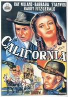 California - Spanish Movie Poster (xs thumbnail)