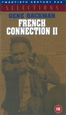 French Connection II - British VHS movie cover (xs thumbnail)