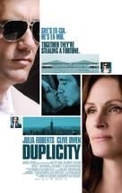 Duplicity - Danish Movie Poster (xs thumbnail)