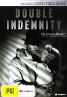 Double Indemnity - Australian DVD movie cover (xs thumbnail)