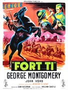 Fort Ti - French Movie Poster (xs thumbnail)