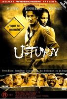 U Turn - Australian DVD cover (xs thumbnail)
