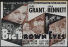Big Brown Eyes - Movie Poster (xs thumbnail)