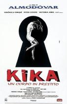 Kika - Italian Theatrical poster (xs thumbnail)