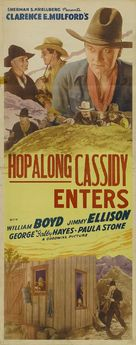 Hop-Along Cassidy - Re-release poster (xs thumbnail)