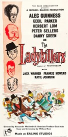 The Ladykillers - British Theatrical poster (xs thumbnail)