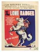 The Lone Ranger - Belgian Movie Poster (xs thumbnail)