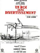 Un roi sans divertissement - French Movie Poster (xs thumbnail)