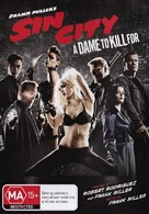 Sin City: A Dame to Kill For - Australian Movie Cover (xs thumbnail)