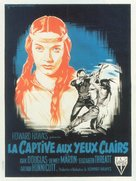 The Big Sky - French Movie Poster (xs thumbnail)