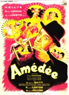 Amèdèe - French Movie Poster (xs thumbnail)
