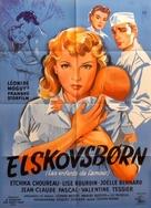 Les enfants de l'amour - Danish Movie Poster (xs thumbnail)