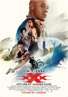 xXx: Return of Xander Cage - Norwegian Movie Poster (xs thumbnail)