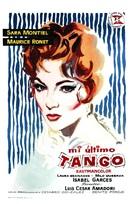 Mi último tango - Spanish Movie Poster (xs thumbnail)