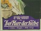 Der Herr der Liebe - German Movie Poster (xs thumbnail)