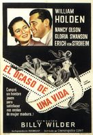 Sunset Blvd. - Argentinian Movie Poster (xs thumbnail)