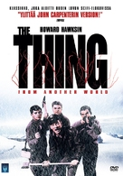 The Thing From Another World - Finnish DVD cover (xs thumbnail)