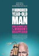 Hundraåringen som klev ut genom fönstret och försvann - Canadian Movie Poster (xs thumbnail)