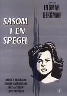 Såsom i en spegel - Swedish Movie Poster (xs thumbnail)