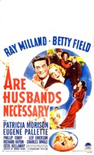 Are Husbands Necessary? - Movie Poster (xs thumbnail)