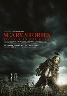 Scary Stories to Tell in the Dark - Finnish Movie Poster (xs thumbnail)