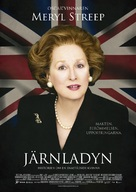 The Iron Lady - Swedish Movie Poster (xs thumbnail)