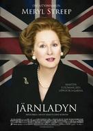 The Iron Lady - Swedish Movie Poster (xs thumbnail)