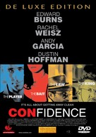 Confidence - Swedish DVD cover (xs thumbnail)