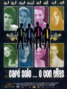 Cafè solo o con ellas - Spanish Movie Poster (xs thumbnail)