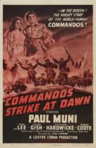 Commandos Strike at Dawn - Movie Poster (xs thumbnail)