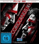 Coriolanus - German Blu-Ray cover (xs thumbnail)