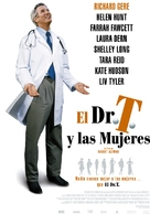 Dr. T & the Women - Spanish Movie Poster (xs thumbnail)