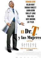 Dr. T & the Women - Spanish Movie Poster (xs thumbnail)
