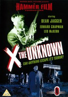 X: The Unknown - British Movie Cover (xs thumbnail)