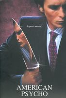 American Psycho - Spanish DVD movie cover (xs thumbnail)