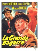The Big Steal - Belgian Movie Poster (xs thumbnail)