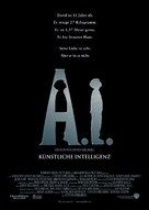 Artificial Intelligence: AI - German Movie Poster (xs thumbnail)