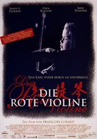The Red Violin - German Movie Poster (xs thumbnail)