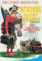 Mr. Hobbs Takes a Vacation - German Movie Poster (xs thumbnail)