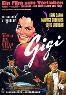 Gigi - German Movie Poster (xs thumbnail)