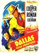 Dallas - French Movie Poster (xs thumbnail)