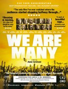 We Are Many - For your consideration movie poster (xs thumbnail)
