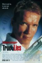 True Lies - Spanish Movie Poster (xs thumbnail)