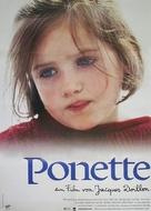 Ponette - German Movie Poster (xs thumbnail)