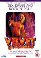 Velvet Goldmine - British DVD movie cover (xs thumbnail)