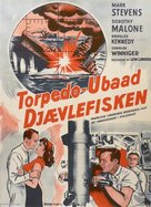Torpedo Alley - Danish Movie Poster (xs thumbnail)