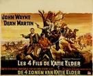 The Sons of Katie Elder - Belgian Movie Poster (xs thumbnail)