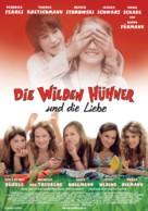 Wilden Hühner und die Liebe, Die - German Movie Poster (xs thumbnail)
