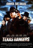 Texas Rangers - Spanish Movie Poster (xs thumbnail)