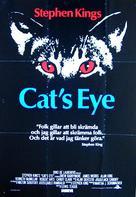Cat's Eye - Swedish Movie Poster (xs thumbnail)